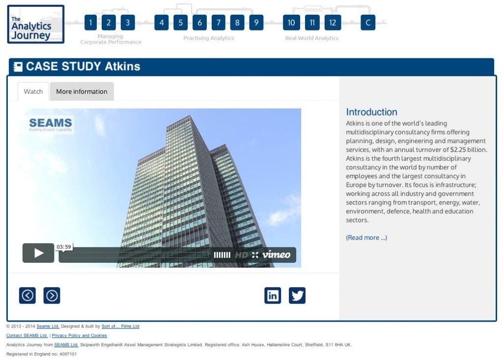 Client Case Study: SEAMS Ltd
